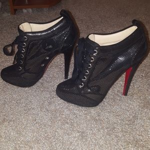 Authentic Christian Louboutin booties